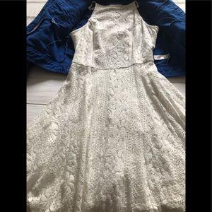 Girls Hollister white dress